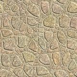 Naadloos patroon van een steen Stock Foto
