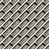 Naadloos patroon van gekleurde rechthoeken Stock Afbeelding