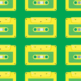 Naadloos patroon van gele band Royalty-vrije Illustratie