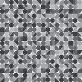 Naadloos patroon van geometrische vormen Een verscheidenheid van tegelspatroon Kleurrijke ceramiektegels/mozaïeken vector illustratie