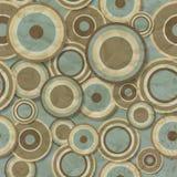 Naadloos patroon van gerimpelde en versleten bruin Royalty-vrije Stock Afbeelding