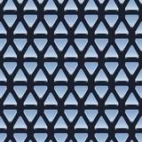Naadloos patroon van glanzende metaaldriehoeken Stock Foto's