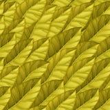 Naadloos patroon van gouden bladeren Het herhalen van vectorpatroon van slabladeren Vectortextuur voor achtergrond, behang vector illustratie