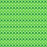 Naadloos patroon van groene abstracte kruisen stock illustratie