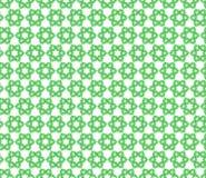 Naadloos patroon van groene bloemen Stock Fotografie