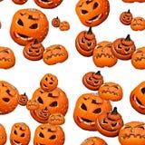 Naadloos patroon van Halloween vector illustratie