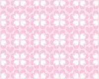 Naadloos patroon van harten - vectorbeeld Royalty-vrije Stock Afbeelding