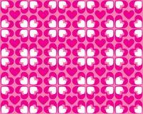 Naadloos patroon van harten - vectorbeeld Stock Foto