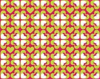 Naadloos patroon van harten - vectorbeeld Royalty-vrije Stock Fotografie