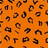Naadloos patroon van jaguarvlekken Natuurlijke texturen Naadloos dierlijk patroon voor textielontwerp Royalty-vrije Stock Afbeelding