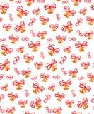 Naadloos patroon van kenwijsjeklokken, Stock Foto
