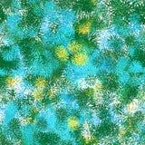 Naadloos patroon van kleurenelementen gelijkend op de stekels vector illustratie