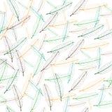 Naadloos patroon van kleurrijk mangoblad stock foto's