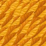 Naadloos patroon van lichtoranje de herfstbladeren Herfst vectortextuur Textuur voor achtergrond, behang, textiel royalty-vrije illustratie