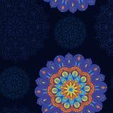 Naadloos Patroon van Mandala 6 Royalty-vrije Stock Foto