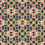 Naadloos patroon van Marokkaans mozaïek Royalty-vrije Stock Foto's