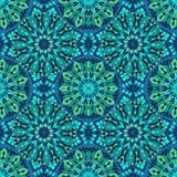 Naadloos patroon van mozaïek Royalty-vrije Stock Afbeelding