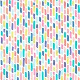 Naadloos patroon van multi-colored strepen Stock Afbeelding