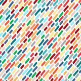 Naadloos patroon van multi-colored vlekken Royalty-vrije Stock Afbeeldingen