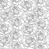 Naadloos patroon van peons Royalty-vrije Stock Afbeeldingen