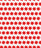 Naadloos patroon van rode bloemen Royalty-vrije Stock Fotografie