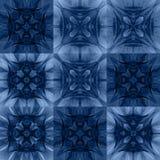 Naadloos patroon van roze vierkanten Stock Fotografie