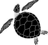 Naadloos patroon van schildpadden Royalty-vrije Stock Afbeelding