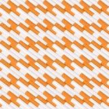 Naadloos patroon van sigaretten Stock Afbeelding