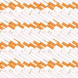 Naadloos patroon van sigaretten Stock Foto's