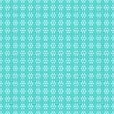 Naadloos patroon van sneeuwvlokken Royalty-vrije Stock Afbeelding