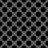 Naadloos patroon van sneeuwvlokken Geometrische Achtergrond Ongebruikelijk rooster royalty-vrije illustratie