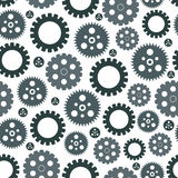 Naadloos patroon van toestellen vector illustratie