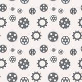 Naadloos patroon van toestellen Vector Stock Afbeelding
