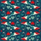 Naadloos patroon 3 van Valentine Stock Fotografie