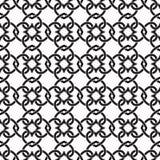 Naadloos patroon van verbindingen in vorm van harten stock illustratie