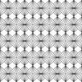 Naadloos patroon van verbonden lijnen royalty-vrije illustratie