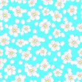 Naadloos patroon van zonnebloemen royalty-vrije illustratie