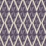 Naadloos patroon Vat geometrische vormen samen Stock Fotografie
