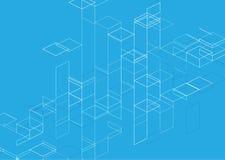 Naadloos patroon Vector abstracte achtergrond Royalty-vrije Stock Afbeeldingen