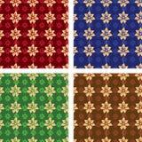 Naadloos patroon. Vector illustratie. Stock Afbeelding