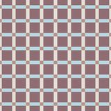 Naadloos patroon Veelkleurig geometrisch ornament met ruit royalty-vrije illustratie