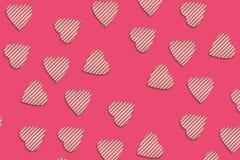 Naadloos patroon: vele abstracte liefjes stock illustratie