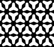 Naadloos patroon, vlotte geometic cijfers Royalty-vrije Stock Fotografie