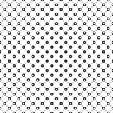Naadloos patroon, vlotte geometrische cijfers, cirkels, lijnen royalty-vrije illustratie