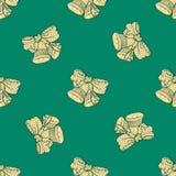 Naadloos patroon voor druk het textielontwerp of document verpakken Royalty-vrije Stock Afbeelding