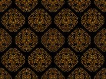 Naadloos patroon voor ontwerp Royalty-vrije Stock Afbeeldingen