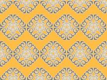 Naadloos patroon voor ontwerp Royalty-vrije Stock Foto's