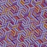 Naadloos patroon voor textiel en verpakking Abstract Geometrisch patroon stock illustratie