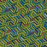Naadloos patroon voor textiel en verpakking Abstract Geometrisch patroon vector illustratie