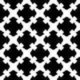 Naadloos patroon, zwarte & witte gotische textuur Stock Foto's